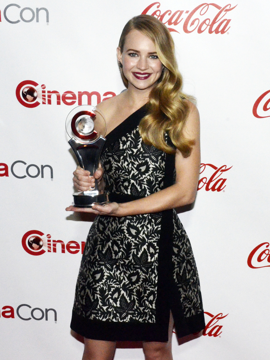 Britt Robertson 2015 CinemaCon 68105