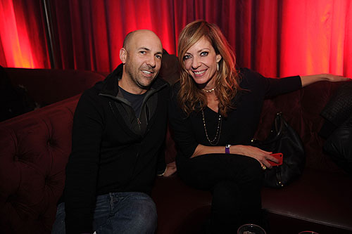 Chris Henze Allison Janney at Marquee  Stella Artois present TAO Nightclub Sundance