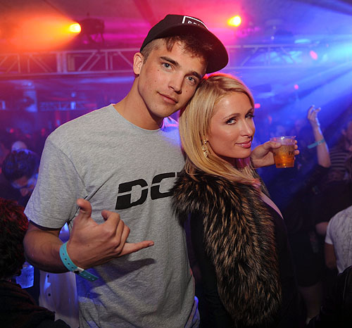 Rivers Viiperi and Paris Hilton at Marquee  Stella Artois present TAO nightclub Sundance